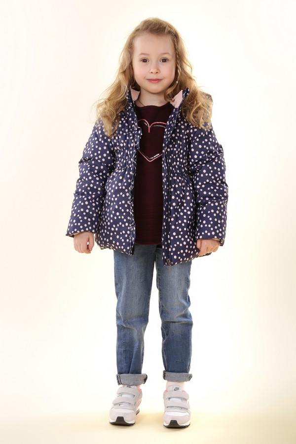 Куртка Tom TailorКуртки<br><br><br>Размер RU: 30;116-122<br>Пол: Женский<br>Возраст: Детский<br>Материал: см. на вшивном ярлыке 0%<br>Цвет: Розовый