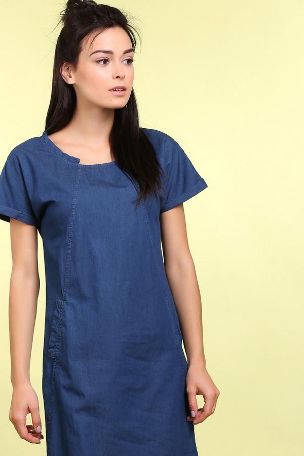 Платье PezzoПлатья<br><br><br>Размер RU: 42<br>Пол: Женский<br>Возраст: Взрослый<br>Материал: хлопок 100%<br>Цвет: Синий