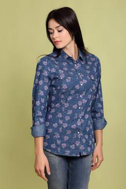 df3724d8b3f Купить женские рубашки и сорочки клетку короткие в интернет-магазине ...