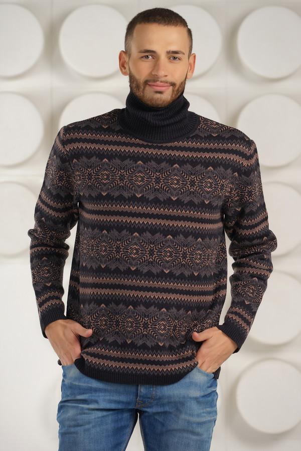 Джемпер VAYДжемперы и Пуловеры<br><br><br>Размер RU: 46<br>Пол: Мужской<br>Возраст: Взрослый<br>Материал: шерсть 50%, пан 50%<br>Цвет: Разноцветный