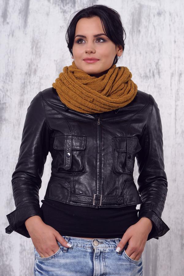 женский шарф vay, коричневый