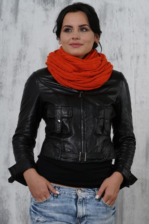 женский шарф vay, оранжевый