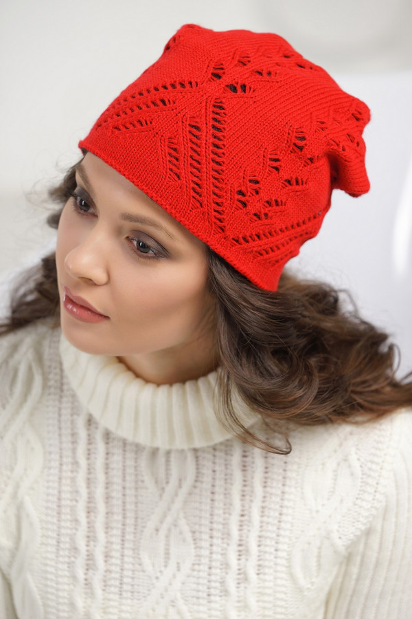 женская шапка vay, серая