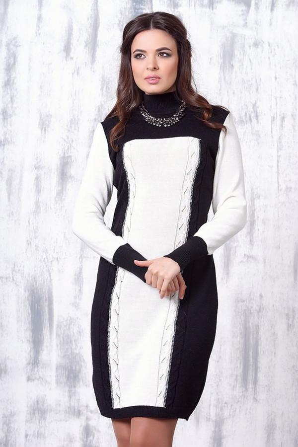 Платье VAYПлатья<br><br><br>Размер RU: 52<br>Пол: Женский<br>Возраст: Взрослый<br>Материал: шерсть 50%, пан 50%<br>Цвет: Белый