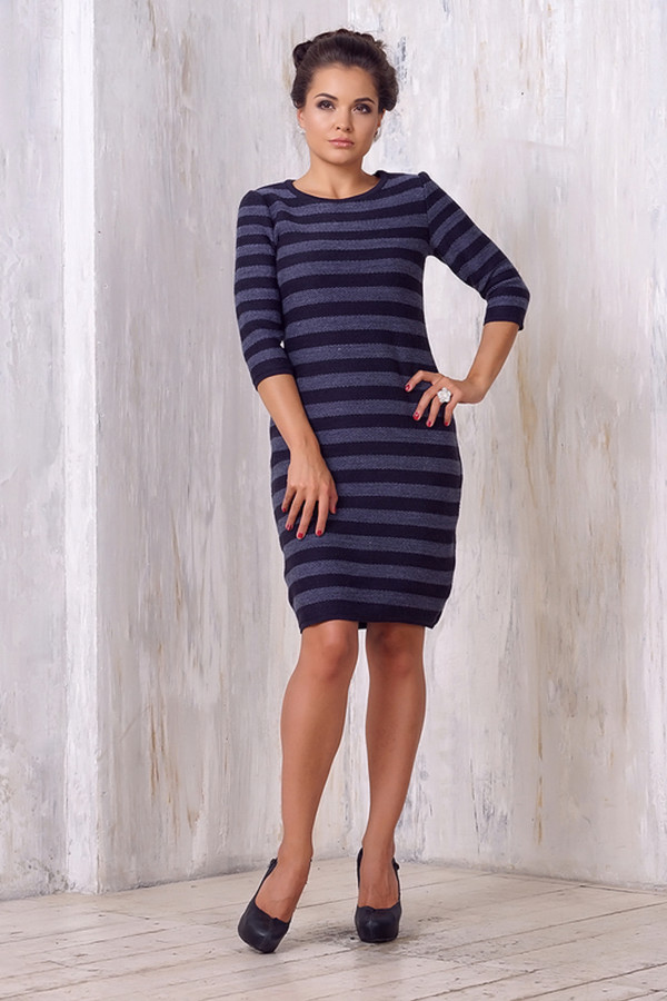Платье VAYПлатья<br><br><br>Размер RU: 46<br>Пол: Женский<br>Возраст: Взрослый<br>Материал: шерсть 50%, пан 50%<br>Цвет: Синий