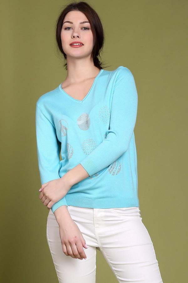 Пуловер PezzoПуловеры<br><br><br>Размер RU: 50<br>Пол: Женский<br>Возраст: Взрослый<br>Материал: полиамид 19%, вискоза 81%<br>Цвет: Голубой