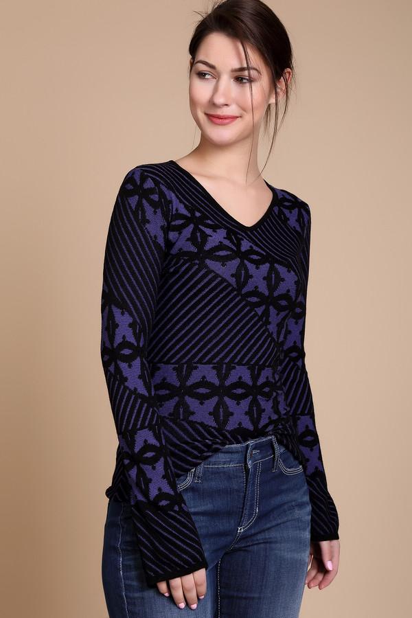 Купить Пуловер Just Valeri, Китай, Фиолетовый, эластан 1%, вискоза 92%, полиамид 7%