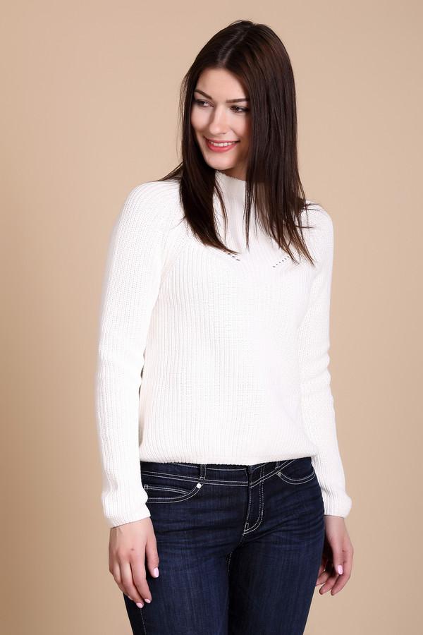 Пуловер PezzoПуловеры<br><br><br>Размер RU: 48<br>Пол: Женский<br>Возраст: Взрослый<br>Материал: хлопок 100%<br>Цвет: Белый
