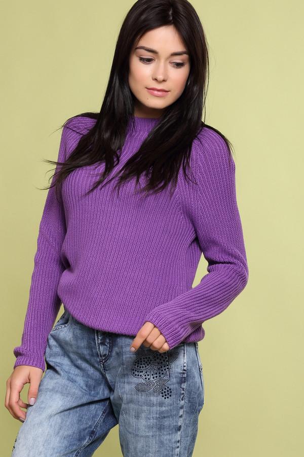 Пуловер PezzoПуловеры<br><br><br>Размер RU: 48<br>Пол: Женский<br>Возраст: Взрослый<br>Материал: хлопок 100%<br>Цвет: Фиолетовый