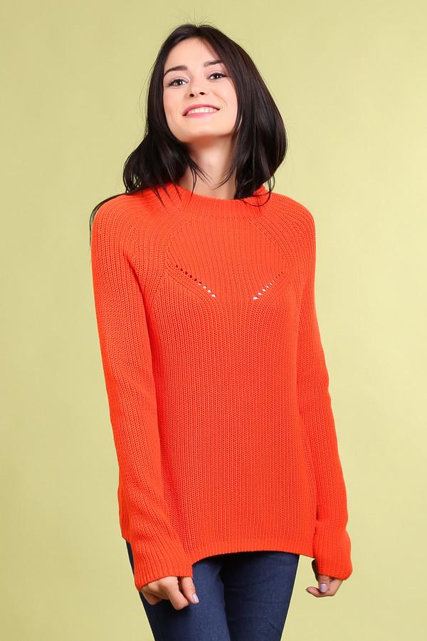 Пуловер PezzoПуловеры<br><br><br>Размер RU: 48<br>Пол: Женский<br>Возраст: Взрослый<br>Материал: хлопок 100%<br>Цвет: Оранжевый