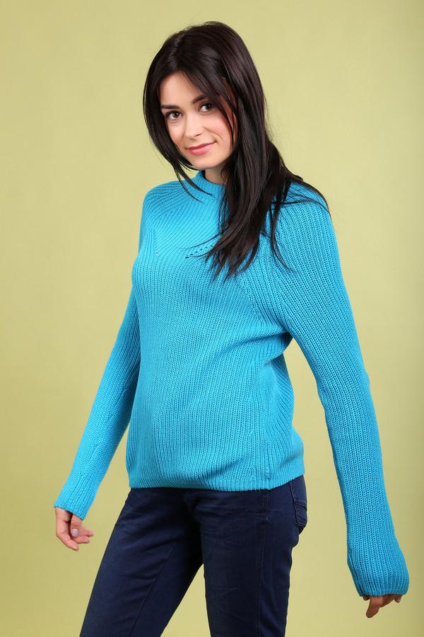 Пуловер PezzoПуловеры<br><br><br>Размер RU: 48<br>Пол: Женский<br>Возраст: Взрослый<br>Материал: хлопок 100%<br>Цвет: Голубой