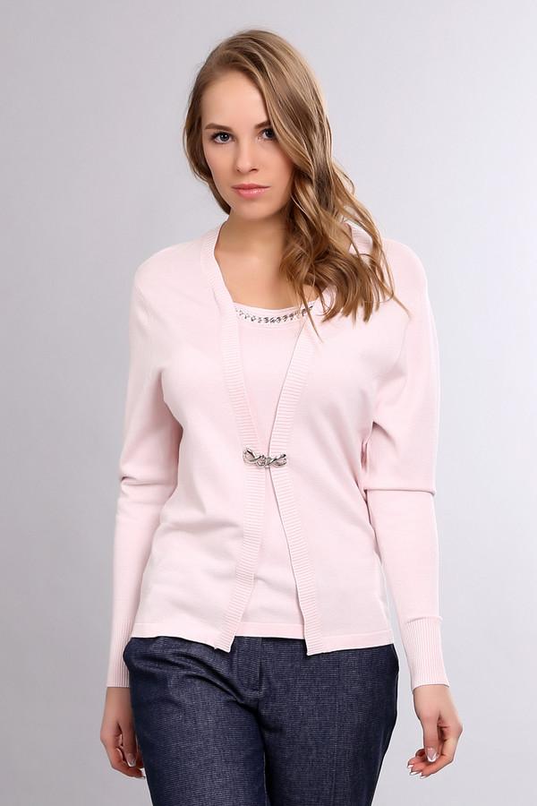 Пуловер PezzoПуловеры<br><br><br>Размер RU: 52<br>Пол: Женский<br>Возраст: Взрослый<br>Материал: полиамид 19%, вискоза 81%<br>Цвет: Розовый
