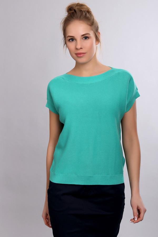 Пуловер PezzoПуловеры<br><br><br>Размер RU: 46<br>Пол: Женский<br>Возраст: Взрослый<br>Материал: хлопок 60%, вискоза 40%<br>Цвет: Зелёный
