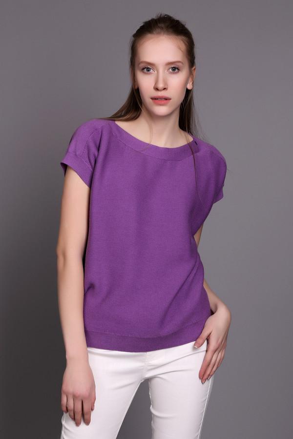 Пуловер PezzoПуловеры<br><br><br>Размер RU: 52<br>Пол: Женский<br>Возраст: Взрослый<br>Материал: хлопок 60%, вискоза 40%<br>Цвет: Фиолетовый