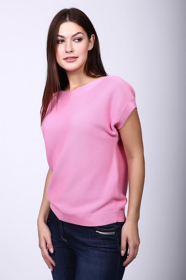Пуловер PezzoПуловеры<br><br><br>Размер RU: 50<br>Пол: Женский<br>Возраст: Взрослый<br>Материал: хлопок 60%, вискоза 40%<br>Цвет: Розовый