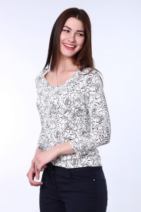 Пуловер PezzoПуловеры<br><br><br>Размер RU: 50<br>Пол: Женский<br>Возраст: Взрослый<br>Материал: полиамид 19%, вискоза 81%<br>Цвет: Белый