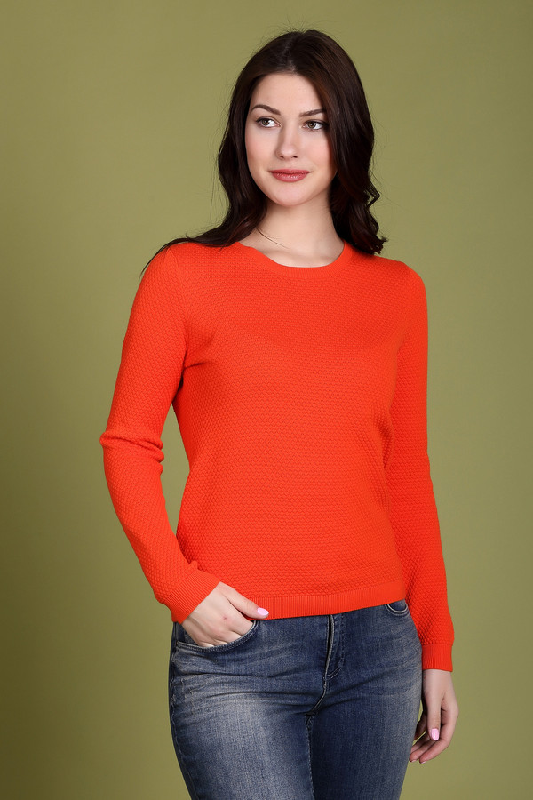 Пуловер PezzoПуловеры<br><br><br>Размер RU: 46<br>Пол: Женский<br>Возраст: Взрослый<br>Материал: хлопок 100%<br>Цвет: Красный