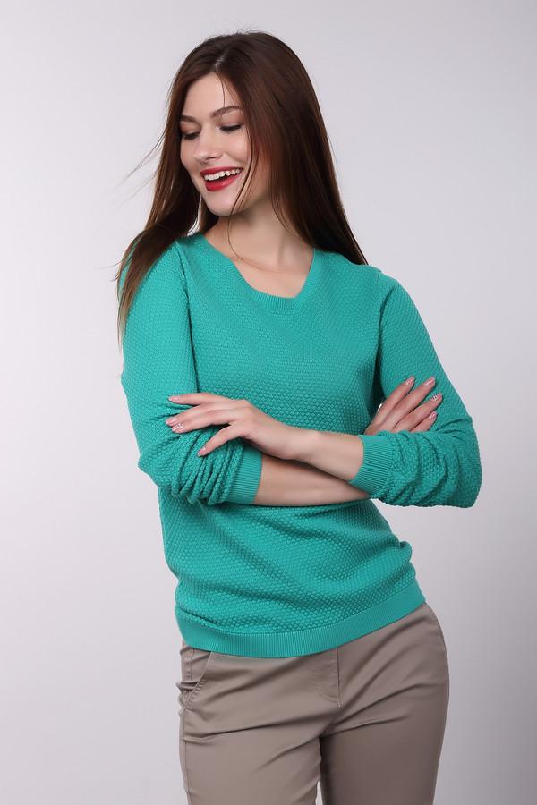 Пуловер PezzoПуловеры<br><br><br>Размер RU: 54<br>Пол: Женский<br>Возраст: Взрослый<br>Материал: хлопок 100%<br>Цвет: Зелёный