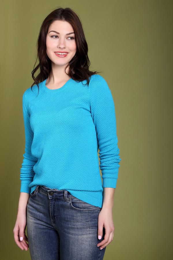 Пуловер PezzoПуловеры<br><br><br>Размер RU: 52<br>Пол: Женский<br>Возраст: Взрослый<br>Материал: хлопок 100%<br>Цвет: Голубой