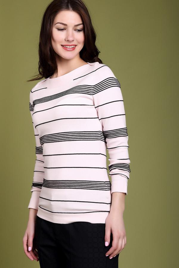 Пуловер PezzoПуловеры<br><br><br>Размер RU: 42<br>Пол: Женский<br>Возраст: Взрослый<br>Материал: эластан 3%, полиамид 17%, хлопок 48%, вискоза 32%<br>Цвет: Чёрный