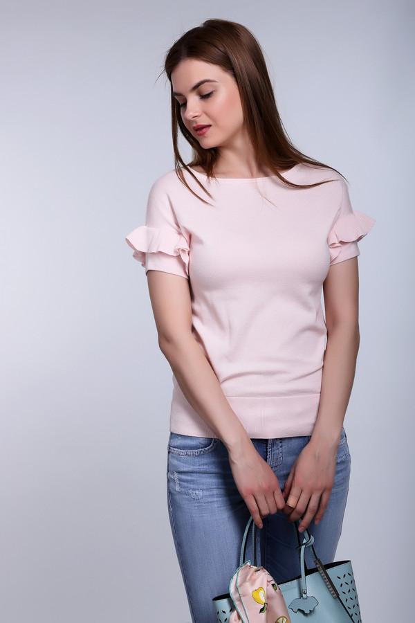 Пуловер PezzoПуловеры<br><br><br>Размер RU: 48<br>Пол: Женский<br>Возраст: Взрослый<br>Материал: хлопок 100%<br>Цвет: Розовый