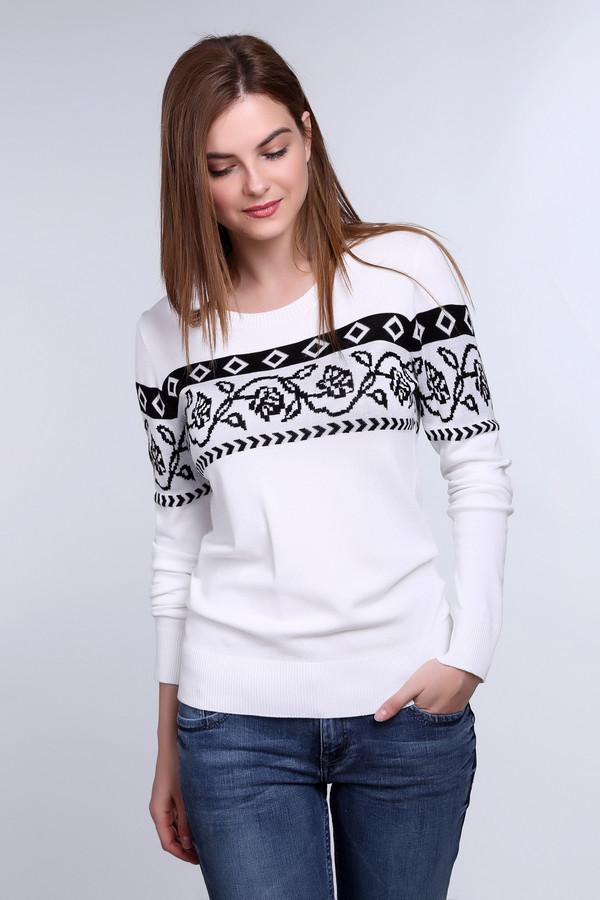 Пуловер PezzoПуловеры<br><br><br>Размер RU: 44<br>Пол: Женский<br>Возраст: Взрослый<br>Материал: полиамид 19%, вискоза 81%<br>Цвет: Чёрный