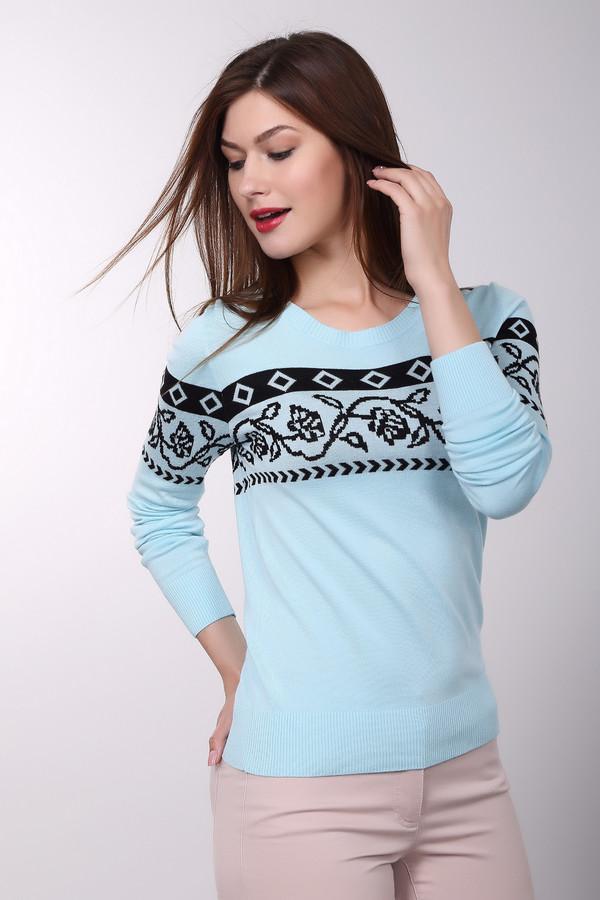 Пуловер PezzoПуловеры<br><br><br>Размер RU: 42<br>Пол: Женский<br>Возраст: Взрослый<br>Материал: полиамид 19%, вискоза 81%<br>Цвет: Разноцветный