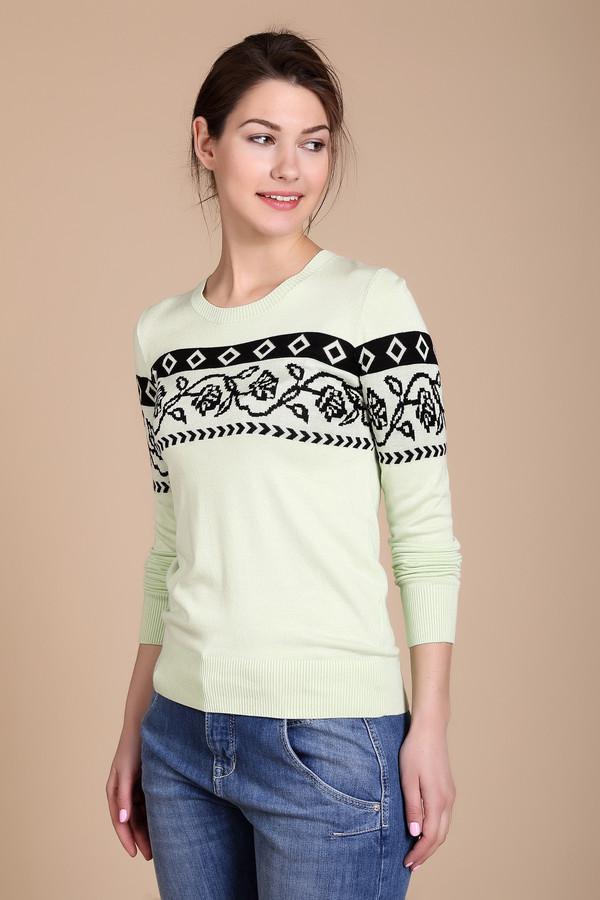Пуловер PezzoПуловеры<br><br><br>Размер RU: 48<br>Пол: Женский<br>Возраст: Взрослый<br>Материал: полиамид 19%, вискоза 81%<br>Цвет: Чёрный