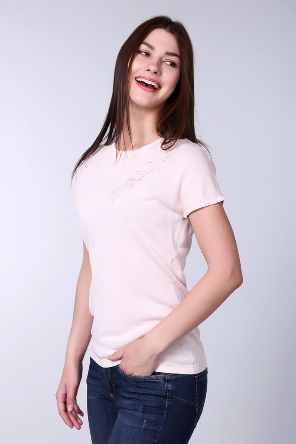 Пуловер PezzoПуловеры<br><br><br>Размер RU: 48<br>Пол: Женский<br>Возраст: Взрослый<br>Материал: вискоза 70%, хлопок 30%<br>Цвет: Розовый