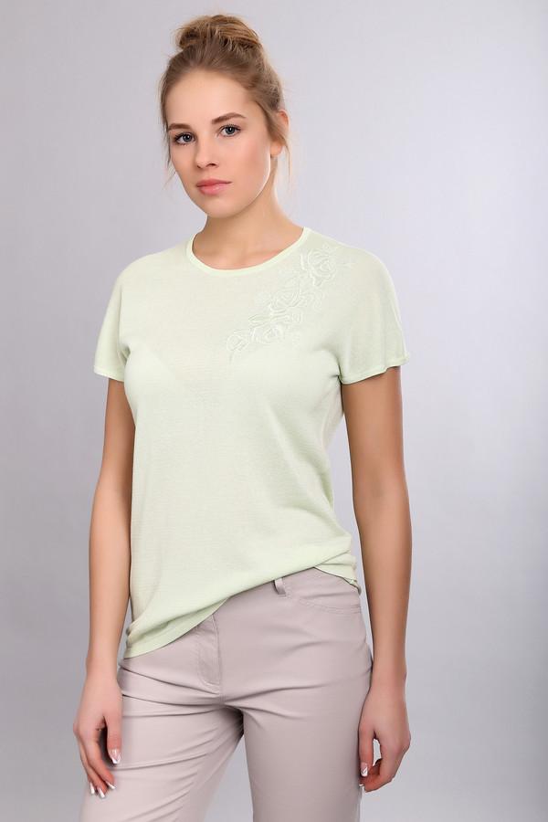 Пуловер PezzoПуловеры<br><br><br>Размер RU: 44<br>Пол: Женский<br>Возраст: Взрослый<br>Материал: вискоза 70%, хлопок 30%<br>Цвет: Зелёный