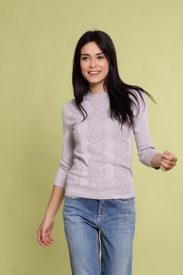 Пуловер Just ValeriПуловеры<br><br><br>Размер RU: 46<br>Пол: Женский<br>Возраст: Взрослый<br>Материал: эластан 2%, полиамид 17%, вискоза 81%<br>Цвет: Сиреневый