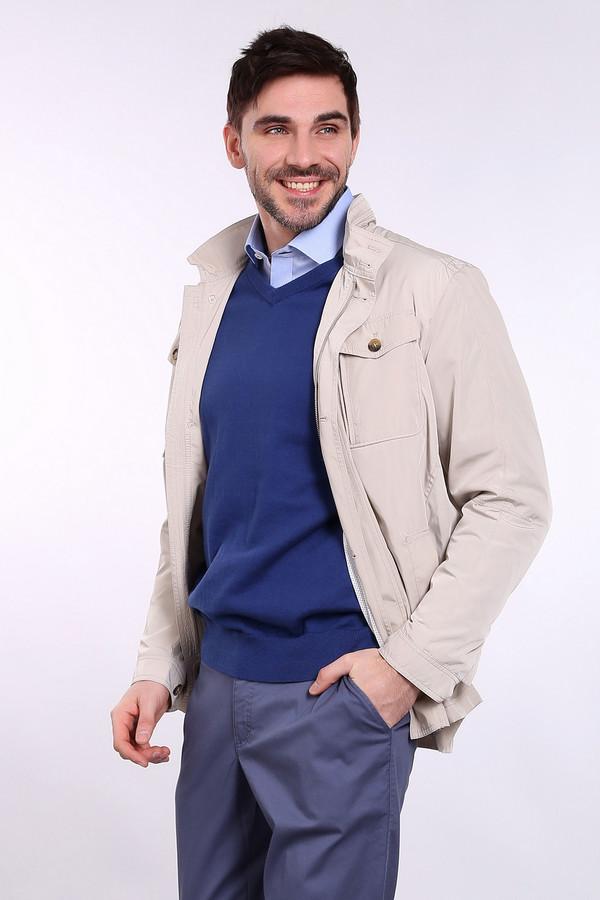 Купить Куртка Just Valeri, Китай, Бежевый, полиэстер 100%, Состав_подкладка полиэстер 100%, Состав_подкладка хлопок 100%
