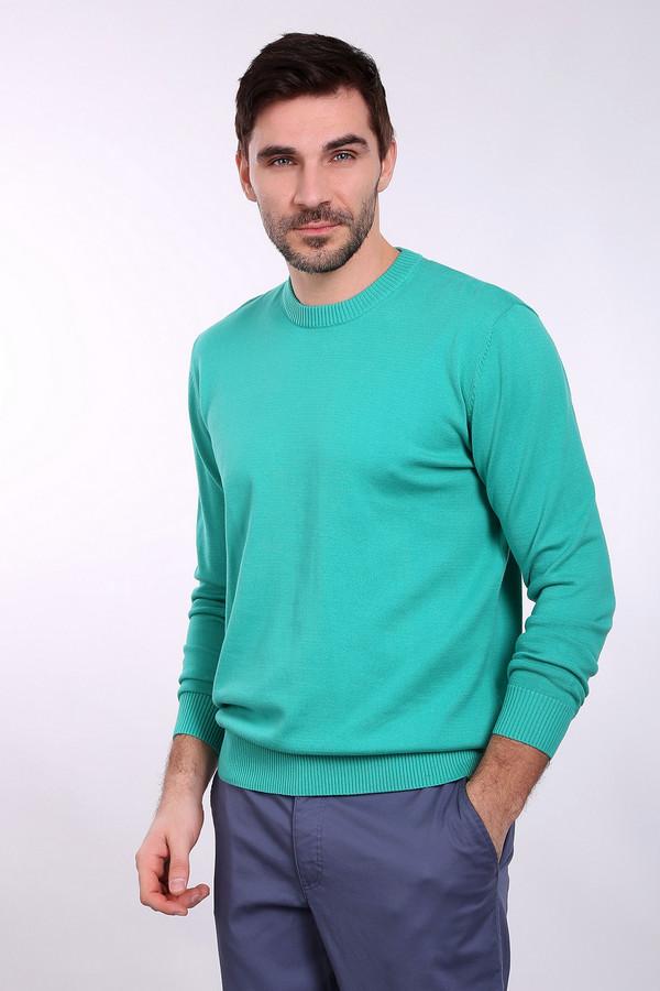 Джемпер PezzoДжемперы и Пуловеры<br><br><br>Размер RU: 46<br>Пол: Мужской<br>Возраст: Взрослый<br>Материал: хлопок 100%<br>Цвет: Голубой