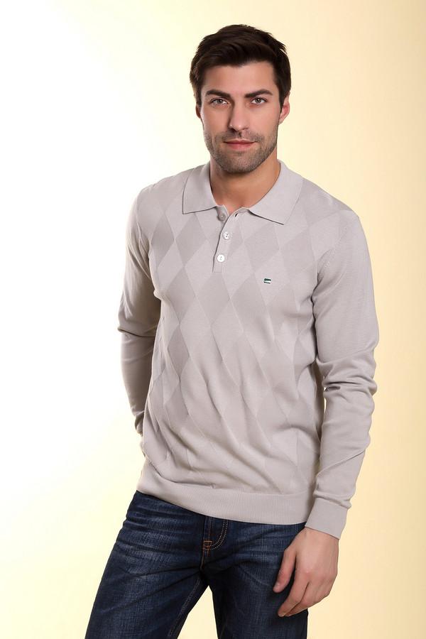 Джемпер PezzoДжемперы и Пуловеры<br><br><br>Размер RU: 46<br>Пол: Мужской<br>Возраст: Взрослый<br>Материал: хлопок 100%<br>Цвет: Серый