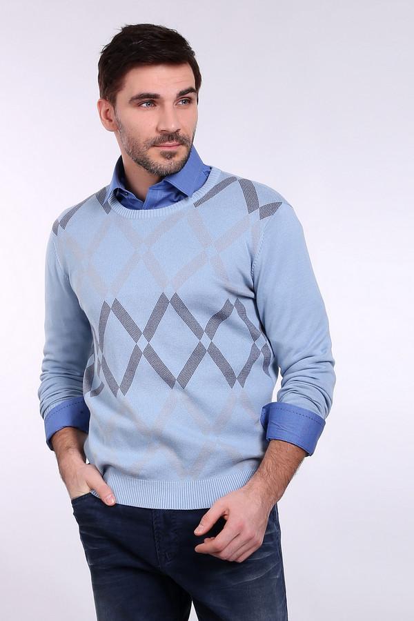 Джемпер PezzoДжемперы и Пуловеры<br><br><br>Размер RU: 52<br>Пол: Мужской<br>Возраст: Взрослый<br>Материал: хлопок 100%<br>Цвет: Разноцветный