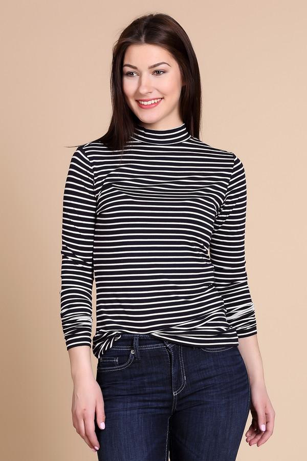 женский пуловер comma, белый