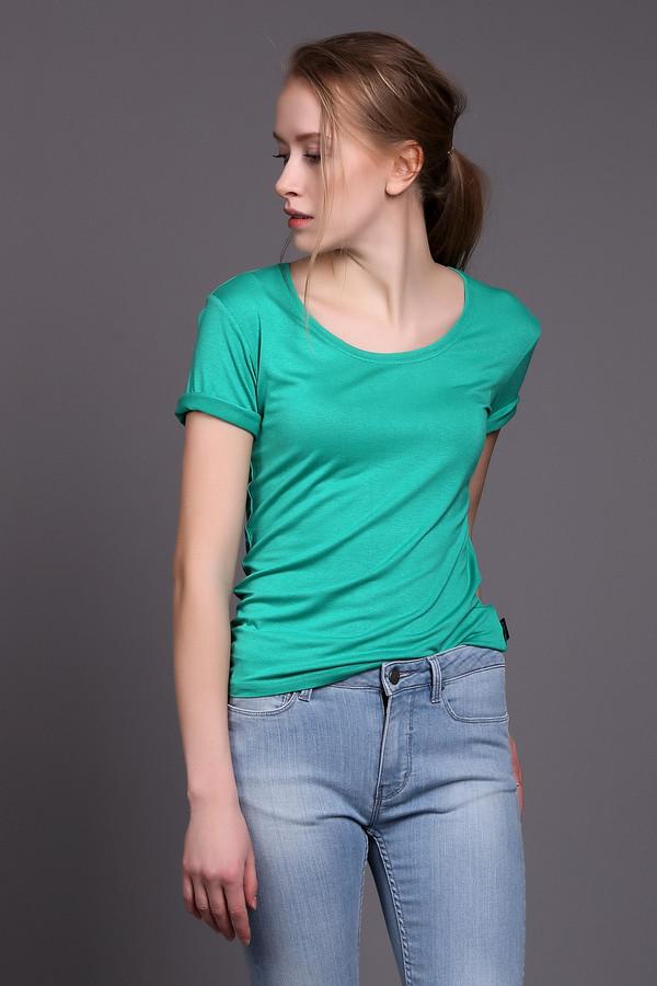 Футболка PezzoФутболки<br><br><br>Размер RU: 46<br>Пол: Женский<br>Возраст: Взрослый<br>Материал: эластан 5%, вискоза 95%<br>Цвет: Зелёный