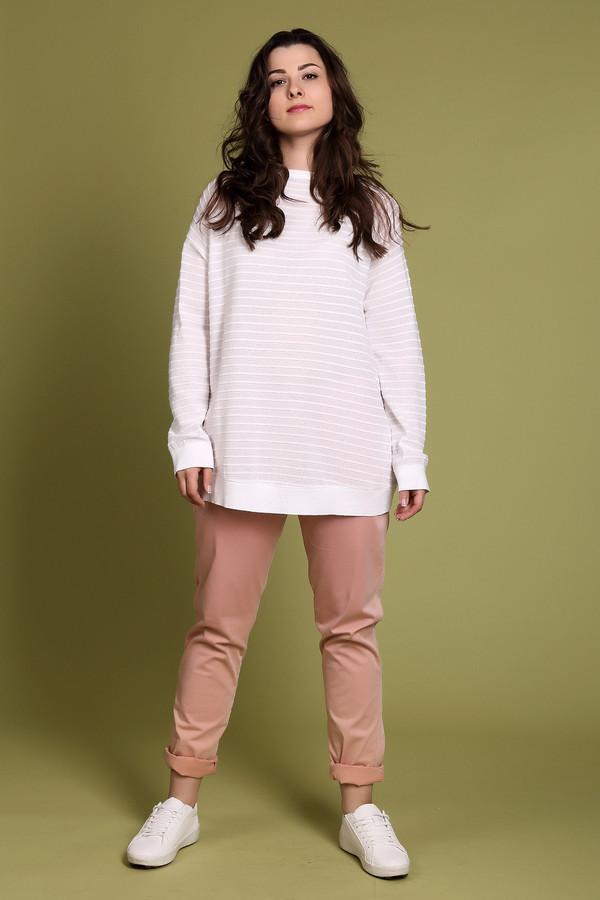 Пуловер Marc CainПуловеры<br><br><br>Размер RU: 48<br>Пол: Женский<br>Возраст: Взрослый<br>Материал: полиамид 18%, вискоза 82%<br>Цвет: Белый