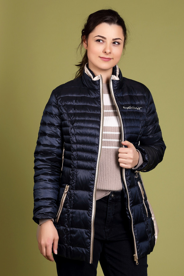 Куртка SportalmКуртки<br><br><br>Размер RU: 48<br>Пол: Женский<br>Возраст: Взрослый<br>Материал: полиамид 100%<br>Цвет: Синий
