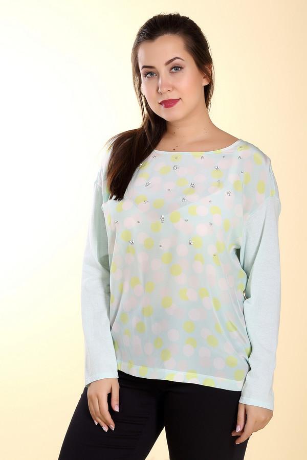 Пуловер Luisa CeranoПуловеры<br><br><br>Размер RU: 52<br>Пол: Женский<br>Возраст: Взрослый<br>Материал: хлопок 100%<br>Цвет: Разноцветный