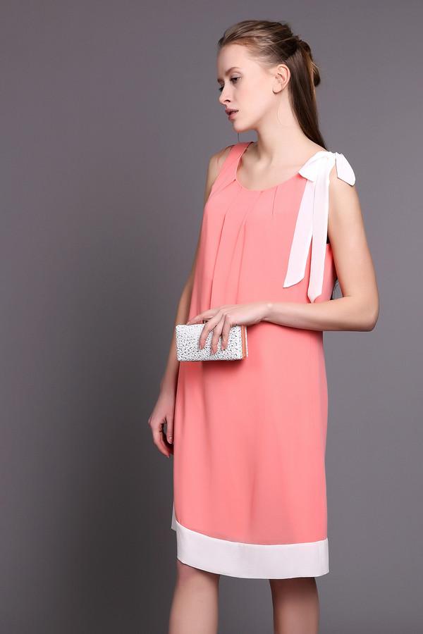 Платье CommaПлатья<br><br><br>Размер RU: 44<br>Пол: Женский<br>Возраст: Взрослый<br>Материал: полиэстер 100%<br>Цвет: Белый