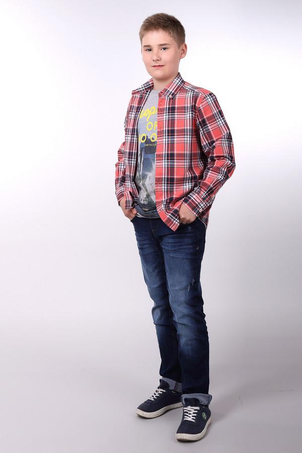Рубашка Tom TailorРубашки<br><br><br>Размер RU: 40;152<br>Пол: Мужской<br>Возраст: Детский<br>Материал: см. на вшивном ярлыке 0%<br>Цвет: Разноцветный