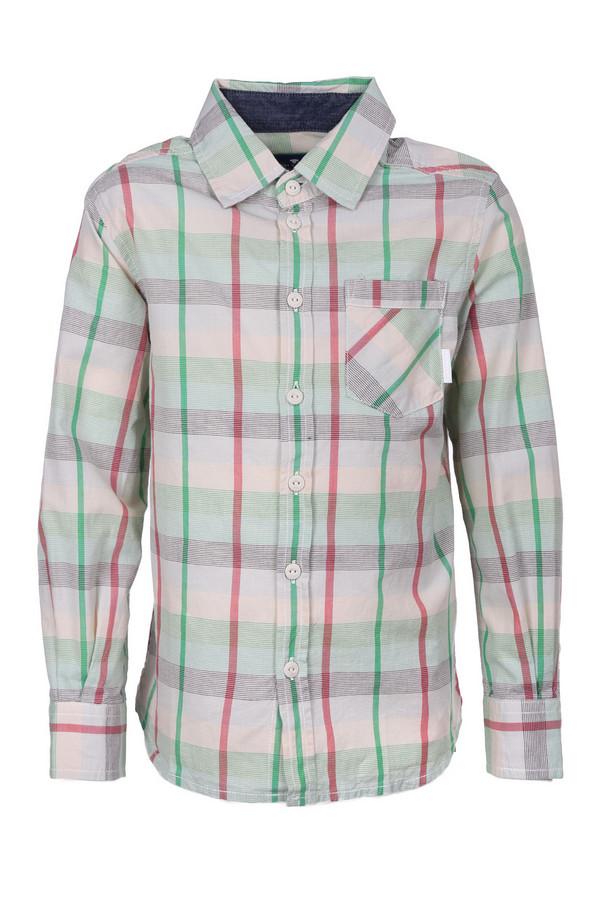 Рубашка Tom TailorРубашки<br><br><br>Размер RU: 28;104-110<br>Пол: Мужской<br>Возраст: Детский<br>Материал: см. на вшивном ярлыке 0%<br>Цвет: Разноцветный