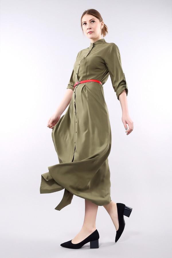 Платье PezzoПлатья<br><br><br>Размер RU: 42<br>Пол: Женский<br>Возраст: Взрослый<br>Материал: вискоза 100%<br>Цвет: Зелёный