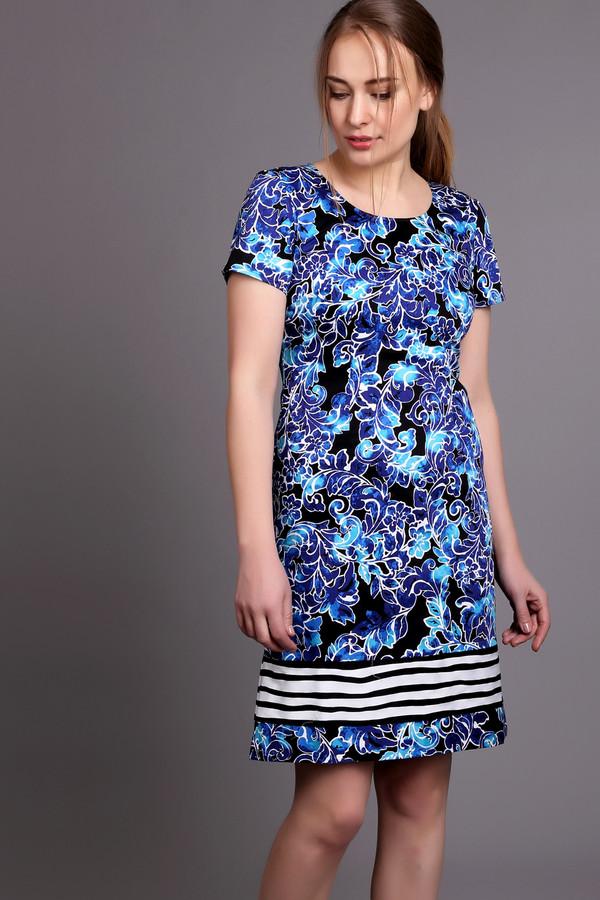 Купить Платье Just Valeri, Китай, Разноцветный, хлопок 97%, спандекс 3%