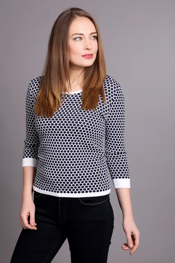 Пуловер Just ValeriПуловеры<br><br><br>Размер RU: 44<br>Пол: Женский<br>Возраст: Взрослый<br>Материал: вискоза 65%, нейлон 35%<br>Цвет: Белый