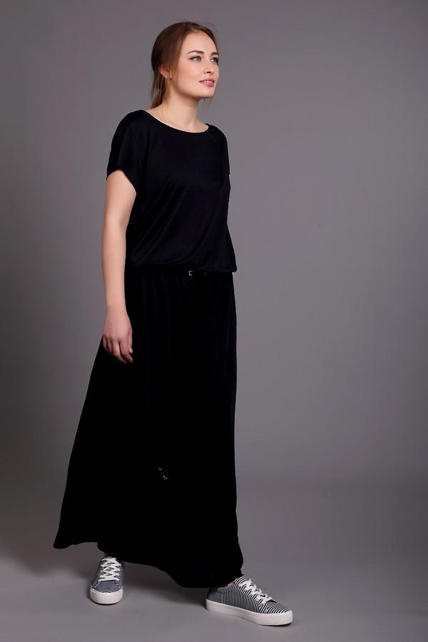 Платье CinqueПлатья<br><br><br>Размер RU: 48/50<br>Пол: Женский<br>Возраст: Взрослый<br>Материал: полиэстер 35%, модал 65%<br>Цвет: Синий