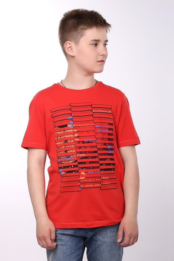 Футболки и поло s.OliverФутболки и поло<br><br><br>Размер RU: 40;152<br>Пол: Мужской<br>Возраст: Детский<br>Материал: хлопок 100%<br>Цвет: Красный