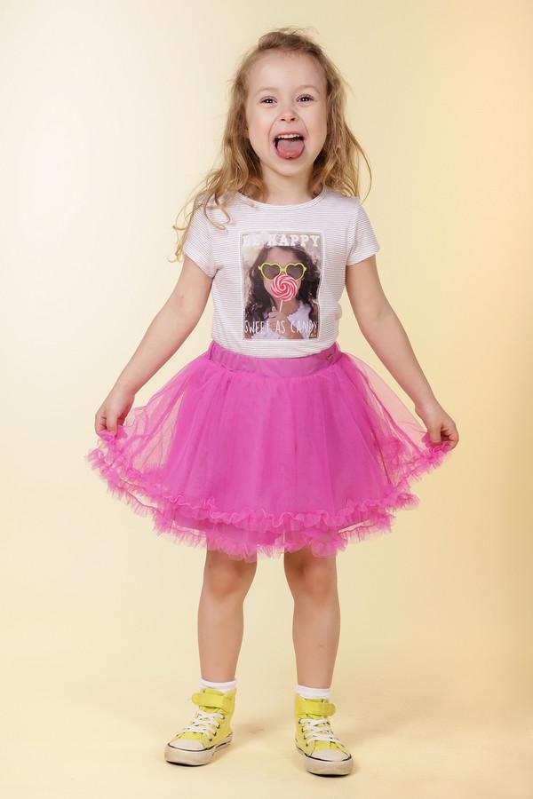 Юбка SarabandaЮбки<br><br><br>Размер RU: 28;110<br>Пол: Женский<br>Возраст: Детский<br>Материал: см. на вшивном ярлыке 0%<br>Цвет: Розовый