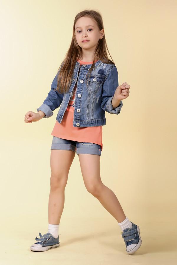 Куртка SarabandaКуртки<br><br><br>Размер RU: 40;152<br>Пол: Женский<br>Возраст: Детский<br>Материал: см. на вшивном ярлыке 0%<br>Цвет: Голубой